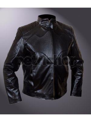 Batman The Dark Knight Rises Bruce Wayne Ben Affleck Biker Jacket