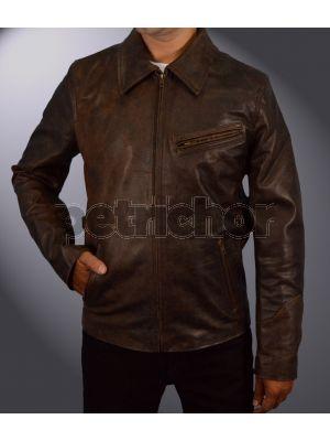 Genuine Cowhide Leather Death Wish Paul Kersey Bruce Willis Jacket