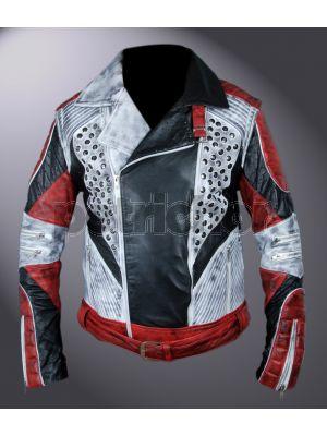 Descendants 2 Removable Arms Carlos Cameron Boyce Double Rider Jacket
