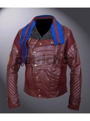 Kids Guardians of the Galaxy Vol 2 Blue Collar Chris Pratt Star Lord Jacket