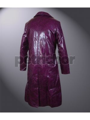 Kids Suicide Squad Jared Leto Joker Purple Coat