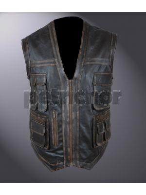 Kids Distressed Jurassic World Chris Pratt Owen Grady Vest