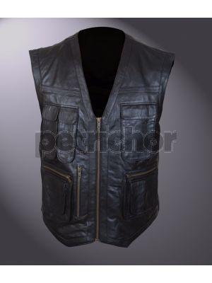 Jurassic World Chris Pratt Owen Grady Black Vest