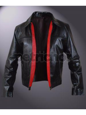 Layer Cake Daniel Craig Leather Moto Jacket