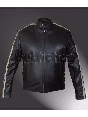 Lethal Weapon 4 Mel Gibson Cafe Racer Jacket