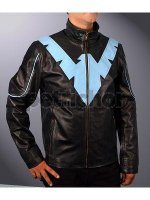 Kids Nightwing Dick Grayson Arkham Knight Justice League Teen Titans Jacket