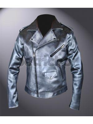 Kids X-Men Apocalypse Evan Peters Quicksilver Double Rider Xmen Jacket