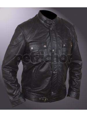 Wanted Wesley Gibson James McAvoy Black Jacket