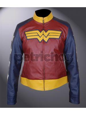 Kids Wonder Woman Gal Gadot Jacket